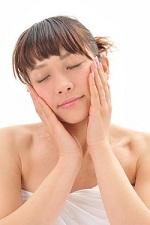 風呂上りの乾燥肌改善