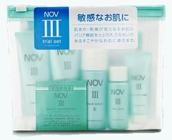 保湿化粧品ノブⅢのトライアルセット